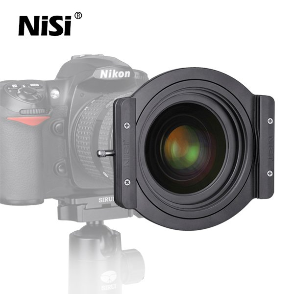 "NiSi 100mm Aluminum Filter Holder w/ 55mm Adapter Ring for NiSi Lee Cokin Z Hitech 4x4"", 4x6"""