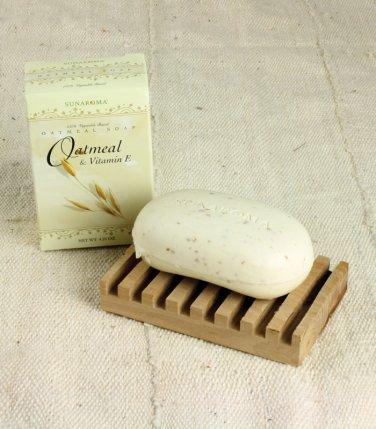 Oatmeal & Vitamin-E Soap - 4.25 ounces