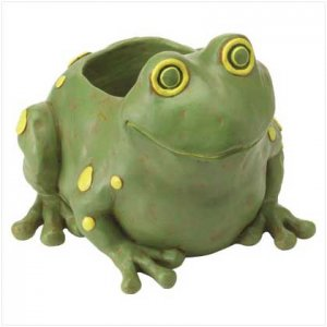 Frog Container Statuary