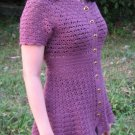 Orchid Crochet Top Pattern in PDF File