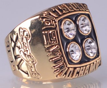 1979 Pittsburgh Steelers ring super bowl championship ring size 11 US