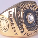 1974 Pittsburgh Steelers ring super bowl championship ring size 11 US