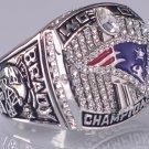 2001 New England Patriots super bowl championship ring size 11 US