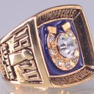 1970 Baltimore Colts super bowl championship ring size 11 US
