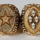 1992 1993 Dallas Cowboys super bowl championship ring size 11 US 2pcs