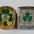 A set Boston Celtics Basketball Championship ring replica size 10 US