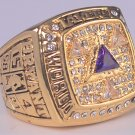 2002 Los Angeles Lakers ring Basketball Championship ring replica size 10 US