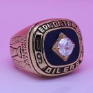 1984 Edmonton Oilers NHL ring Hockey championship ring size 12 US