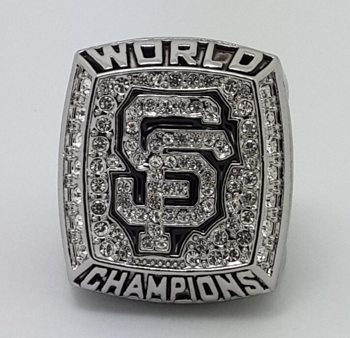 2012 San Francisco Giants world series MLB Ring Baseball championship ring size 11 US