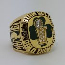 1986 Boston Celtics Basketball Championship ring BIRD replica size 9-14 US