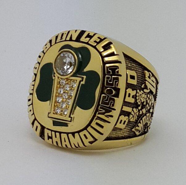 1986 Boston Celtics Basketball Championship Ring Bird