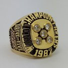 1987 Los Angeles Lakers Basketball Championship ring JOHNSON replica size 11 US