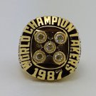 1987 Los Angeles Lakers Basketball Championship ring JOHNSON replica size 12 US