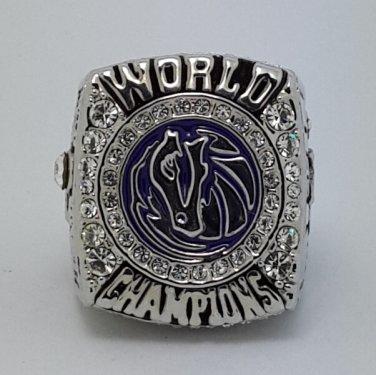 2011 Dallas Mavericks Kidd Basketball Championship ring replica size 10 US
