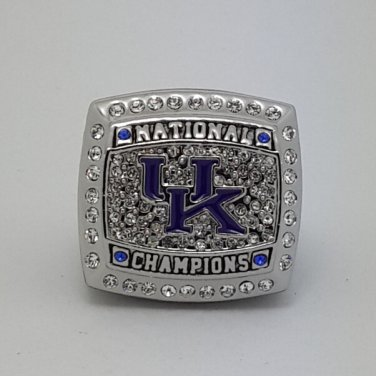 2012 University of Kentucky Wildcats NCAA championship ring size 11 US