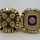1987 1988 Los Angeles Lakers Basketball Championship Ring JOHNSON replica size 11 US