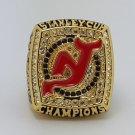 2003 New Jersey Devils Hockey championship ring NHL Ring size 11 US