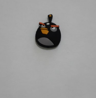 Angry Birds Black Tennis Dampeners.Vibration Dampener.Shock Absorber 1Pcs
