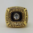 1974 Pittsburgh Steelers super bowl championship ring size 11 US