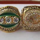 A Set Green Bay Packers ring 1966 1967 1996 2010 super bowl championship ring size 11 US