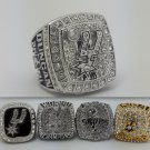 A set 5Pcs San Antonio Spurs ring Basketball Championship ring DUNCAN replica size 10 US