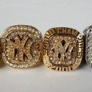 A SET New York Yankees MLB ring Baseball championship ring size 11 US 4Pcs