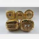 5PCS Los Angeles Lakers Kobe Bryant ring Basketball Championship ring size 10 US