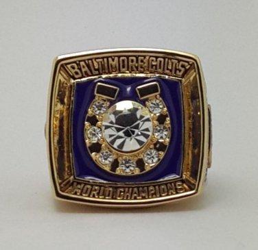 1970 Baltimore Colts ring super bowl championship ring size 11 US