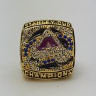 2001 Colorado Avalanche NHL ring Hockey championship ring size 11 US