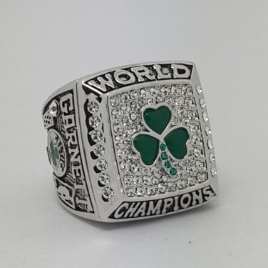 2008 Boston Celtics ring Basketball Championship ring replica size 10 US
