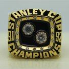 1992 NHL Pittsburgh Penguins championship ring size 10 US