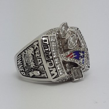 2003 New England Patriots super bowl championship ring size 13 US