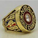 1983 Philadelphia 76ers ring Basketball Championship ring Malone replica size 12 US