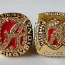 2009 2011 Alabama Crimson Tide NCAA Football College Championship rings 11 Size