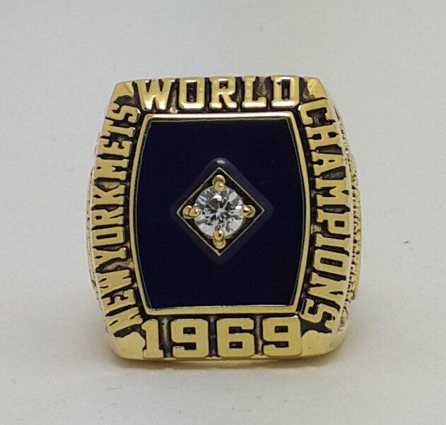 1969 New York Mets Baseball championship ring MLB ring size 8-14 US