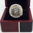 2010 San Francisco Giants MLB world series Baseball championship ring size 8-14 US with wooden box