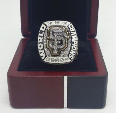 2014 San Francisco Giants MLB world series Baseball championship ring size 8-14 US With wooden box