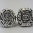 2PCS San Francisco Giants world series MLB ring 2010 2014 championship ring size 11 US