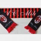 134x17cm Italy AC Milan football soccer scarf neckerchief fan souvenirs