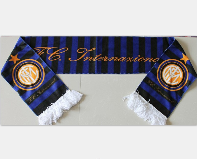 134x17cm Italy Inter Milan football soccer scarf neckerchief fan souvenirs