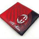 110x98 AC Milan wallet football soccer purse PU fashion souvenior vogue