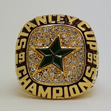 1999 Dallas Stars NHL Hockey stanely cup Championship ring 8-14 US