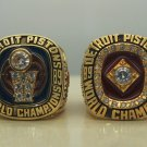 1989 1990 Detroit Pistons ring Basketball Championship ring replica size 8-14 US