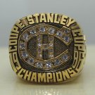 1986 NHL Montreal Canadiens Stanley Cup Hockey championship ring size 8-14 US