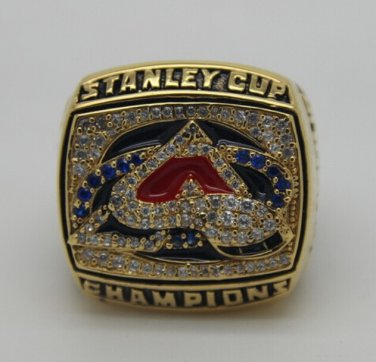 2001 Colorado Avalanche Stanley Cup NHL ring Hockey championship ring size 9-13 US