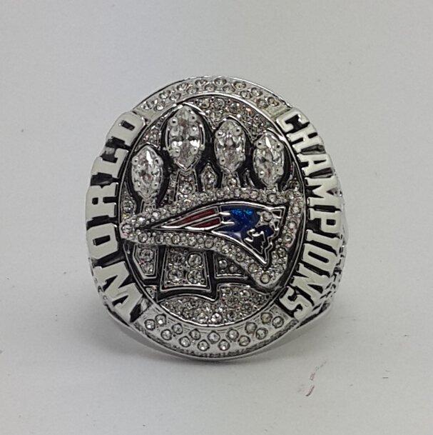 2014 2015 New England Patriots XLIX super bowl championship ring size 8-14 US NEW