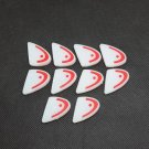 10 PCS white red HEAD logo tennis racquet vibration dampener shock absorber