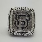 2012 San Francisco Giants world series MLB Ring Baseball championship ring size 8-14 US Back Solid