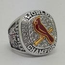 2011 St Louis Cardinals World Series Championship ring size 8-14 US Back Solid