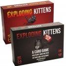 Exploding Kittens Card Game Bundle